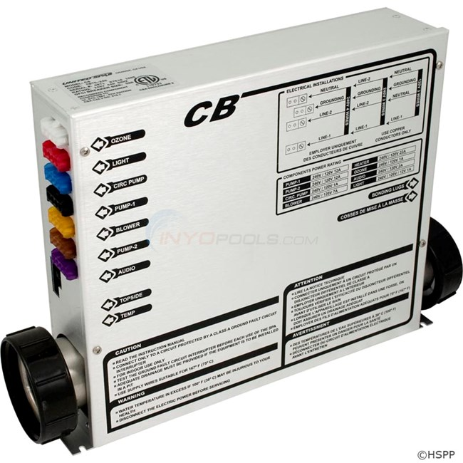 CB Electronic Control Box(Heater on Bottom) (HZCB)