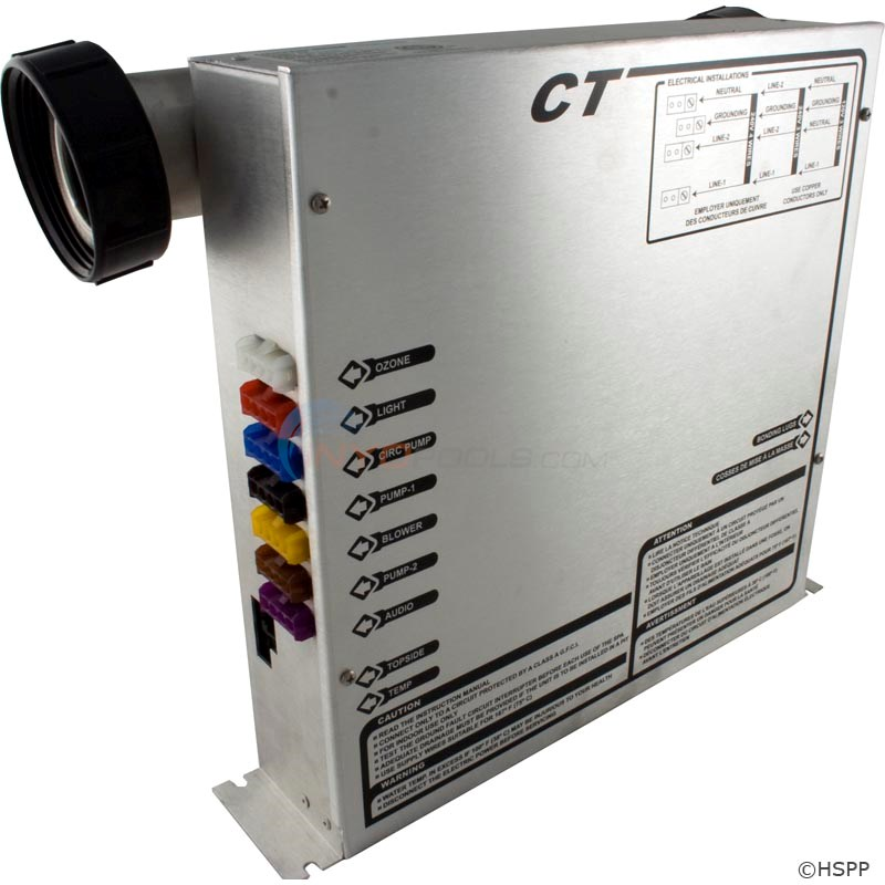 CT Electronic Control Box(Heater on Top) (HZCT)