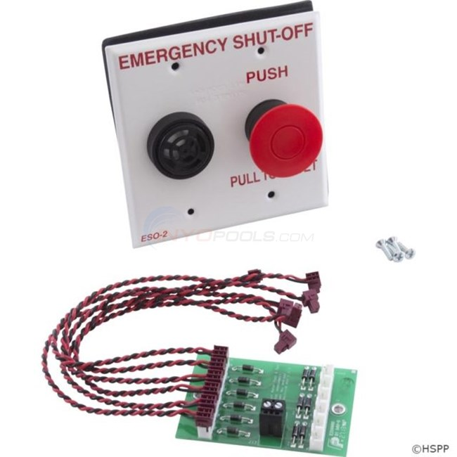 Pentair Emergency Shut-Off Switch w/ Alarm - ESO3