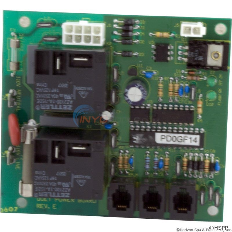Vita Spas Board, LD-15, Heat Recovery Sys, Duet Power Board (451206)