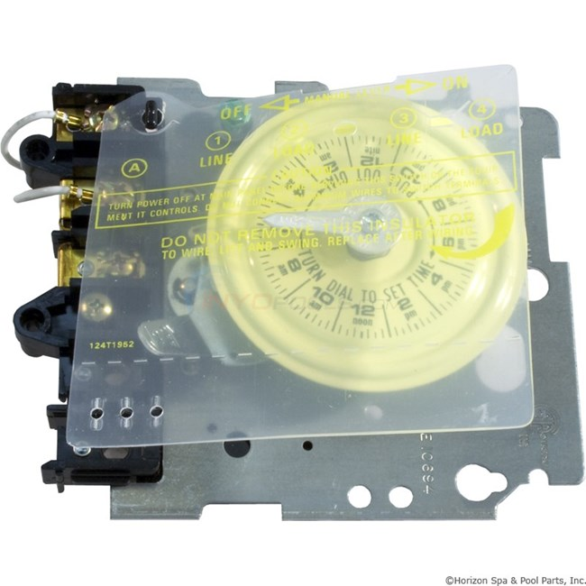 Intermatic mechanism only t101m spst t101m for Intermatic pool timer clock motor