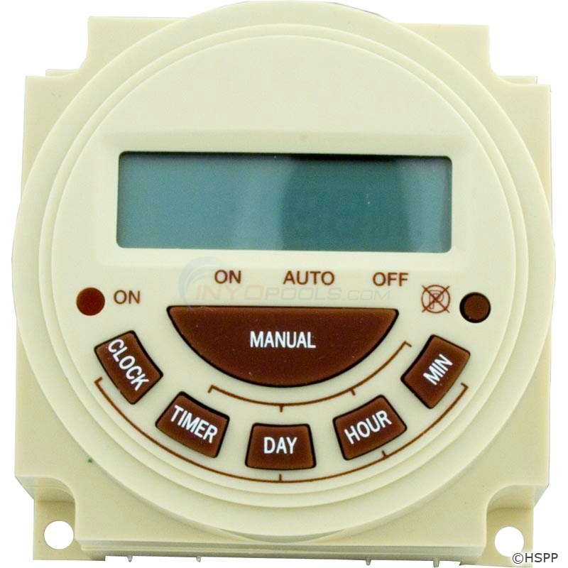 Timer, Electric, 7 Day, SPST 20A 240V (PB374E)