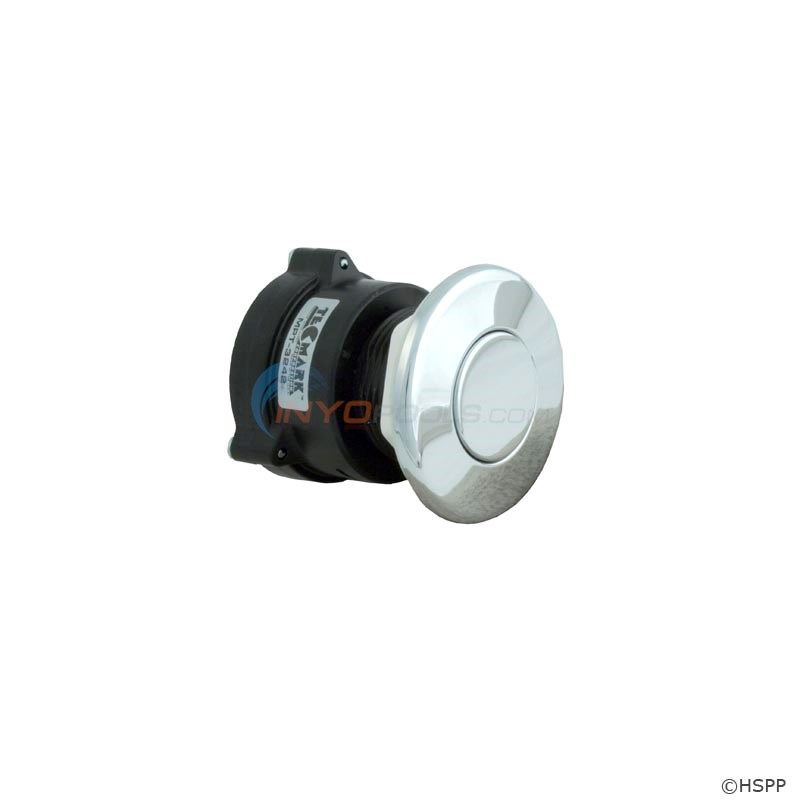 TDI 3242 Flush Mount Button, Chrome (MPT-57570-3242)