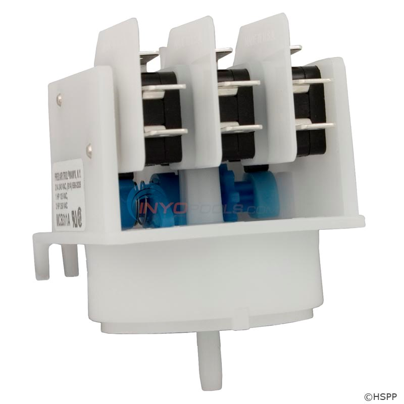 Air Switch, 4 Funct., Blue Cam - MCB311A