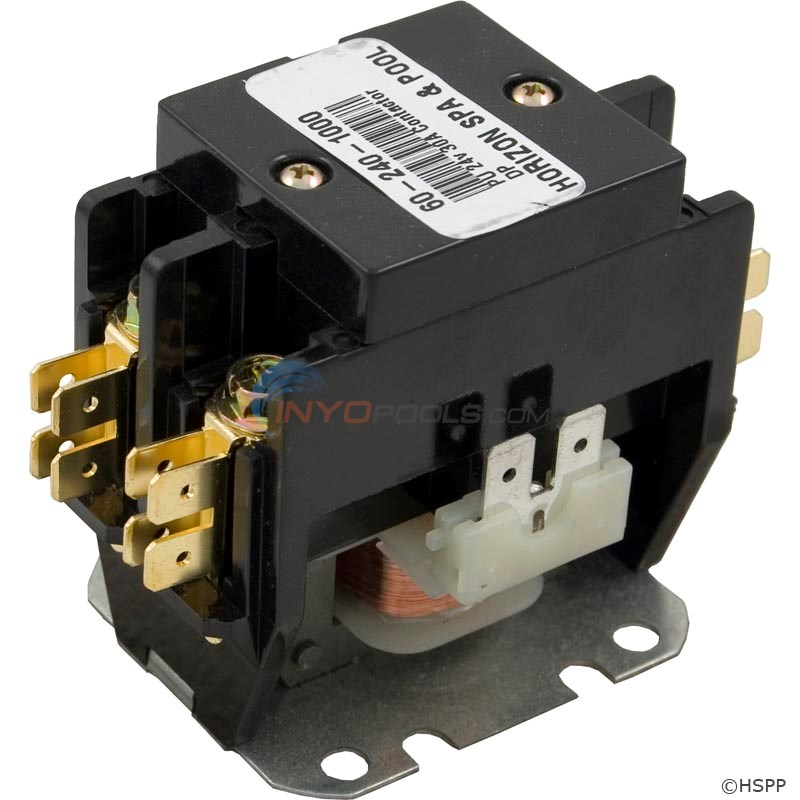CONTACTOR 24V 30AMP DPST