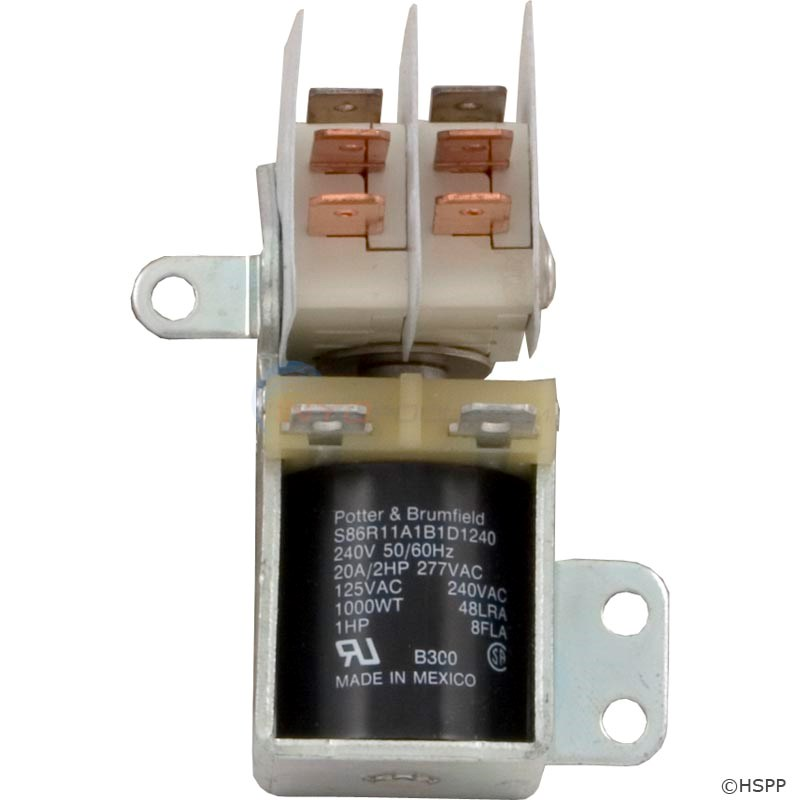 S86R11-240VAC Relay DPDT (5-00-5003)