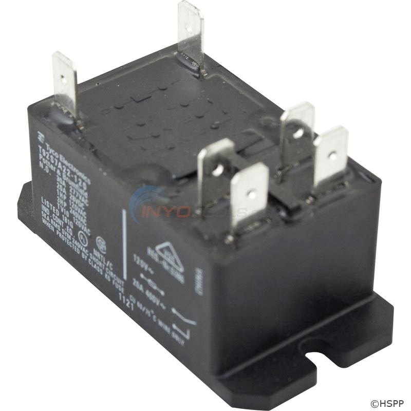 T-92 Relay DPST 110Vac Coil (PB #T92S7A22-120) (T92S7A22-120)