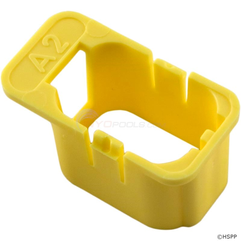 Keying Enclosure, LC-A2-Yellow, Auxiliary 2 (120/240) (9917-100911)