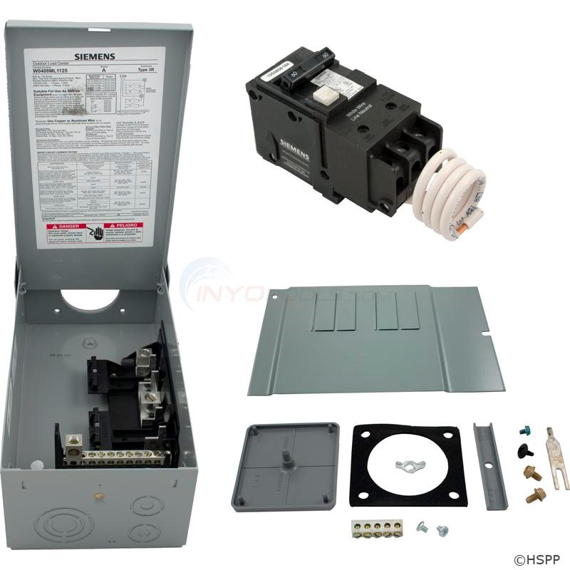 60Amp Siemens GFCI Load Center (GFCI60A-KIT)
