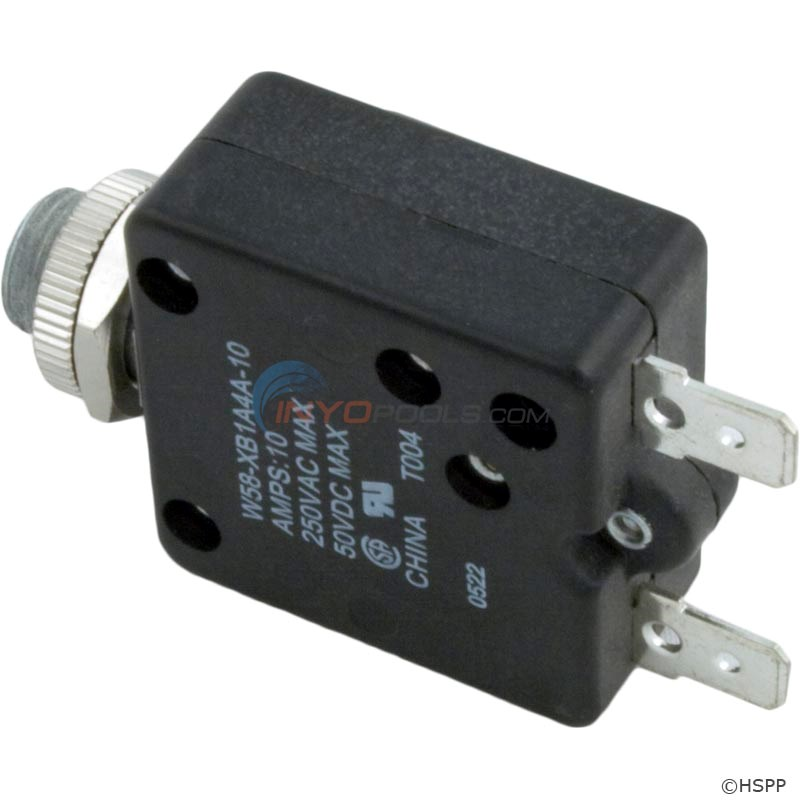 Circuit Breaker, Panel Mount, 10A, 120V - 60-555-1000