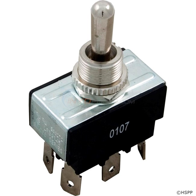 Toggle Switch, DPDT Center Off - 60-555-1516