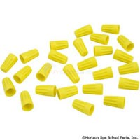 Wire Nut Connector, Yellow, 18-10 AWG (Pkg 25) - 60-555-1706