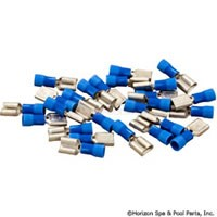 "Female Disconnect, Blue 16-14AWG, .250"" Tab (Pkg 25) - 60-555-1766"