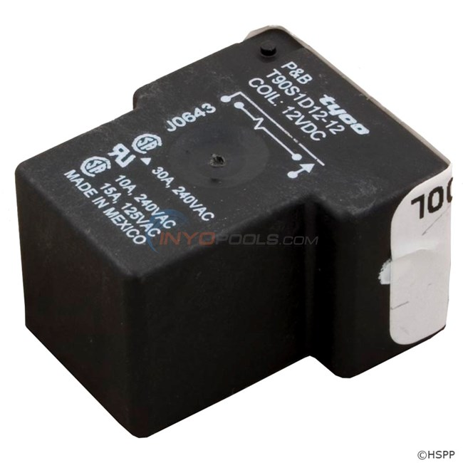 Relay, T-90 Type, 12VDC Coil Magnecraft W90S1D12-12 (5-00-0016)