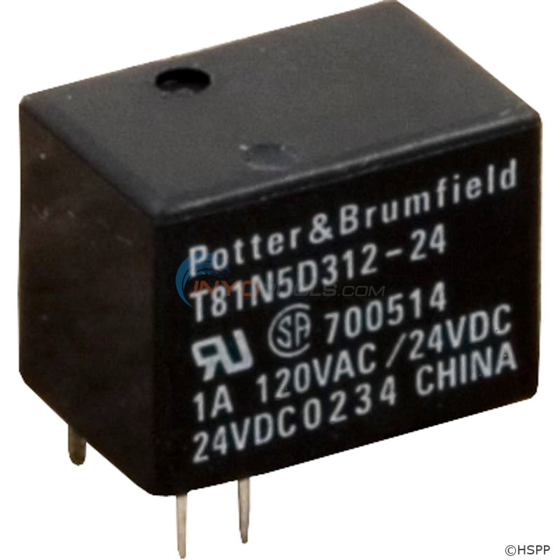 Relay,T-81 Type,SPDT,24VDC,1Amp(Jandy) - 60-555-2360