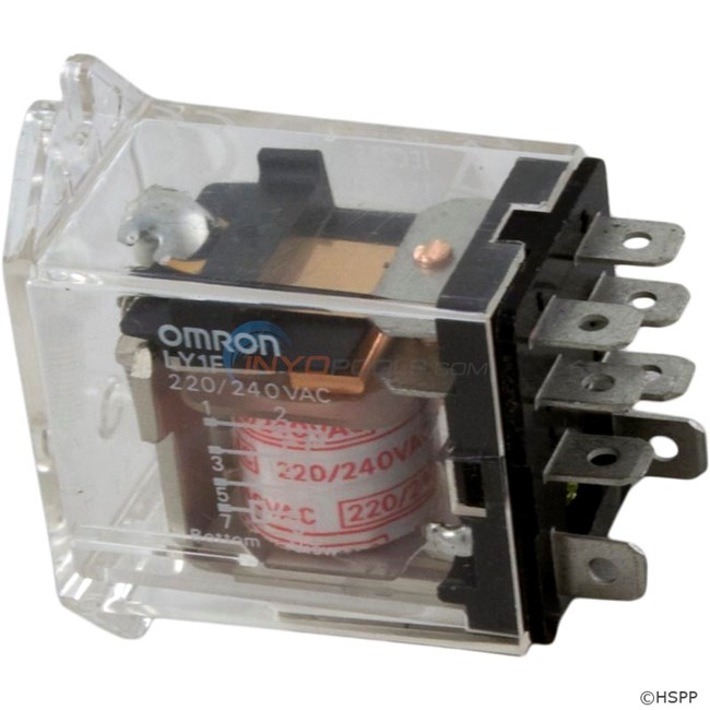 Omron LY1-F Relay SPDT 220vac 15amp - 60-584-1200
