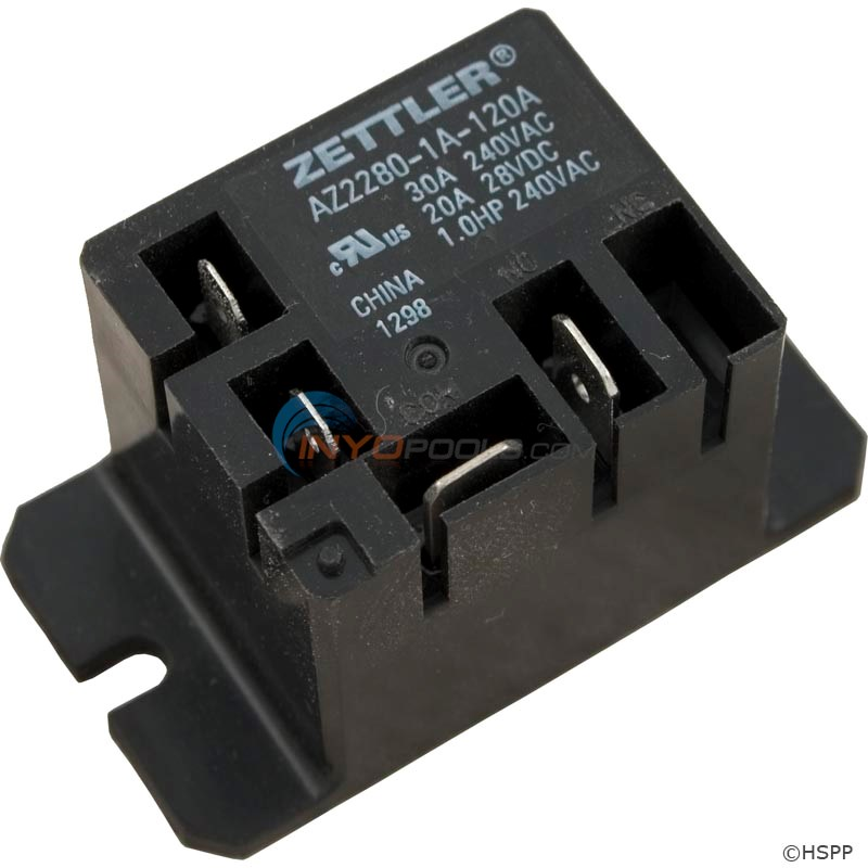 Power Relay (Z2280-1A-120A)Mini 30A SPST 120VAC - 60-590-1051