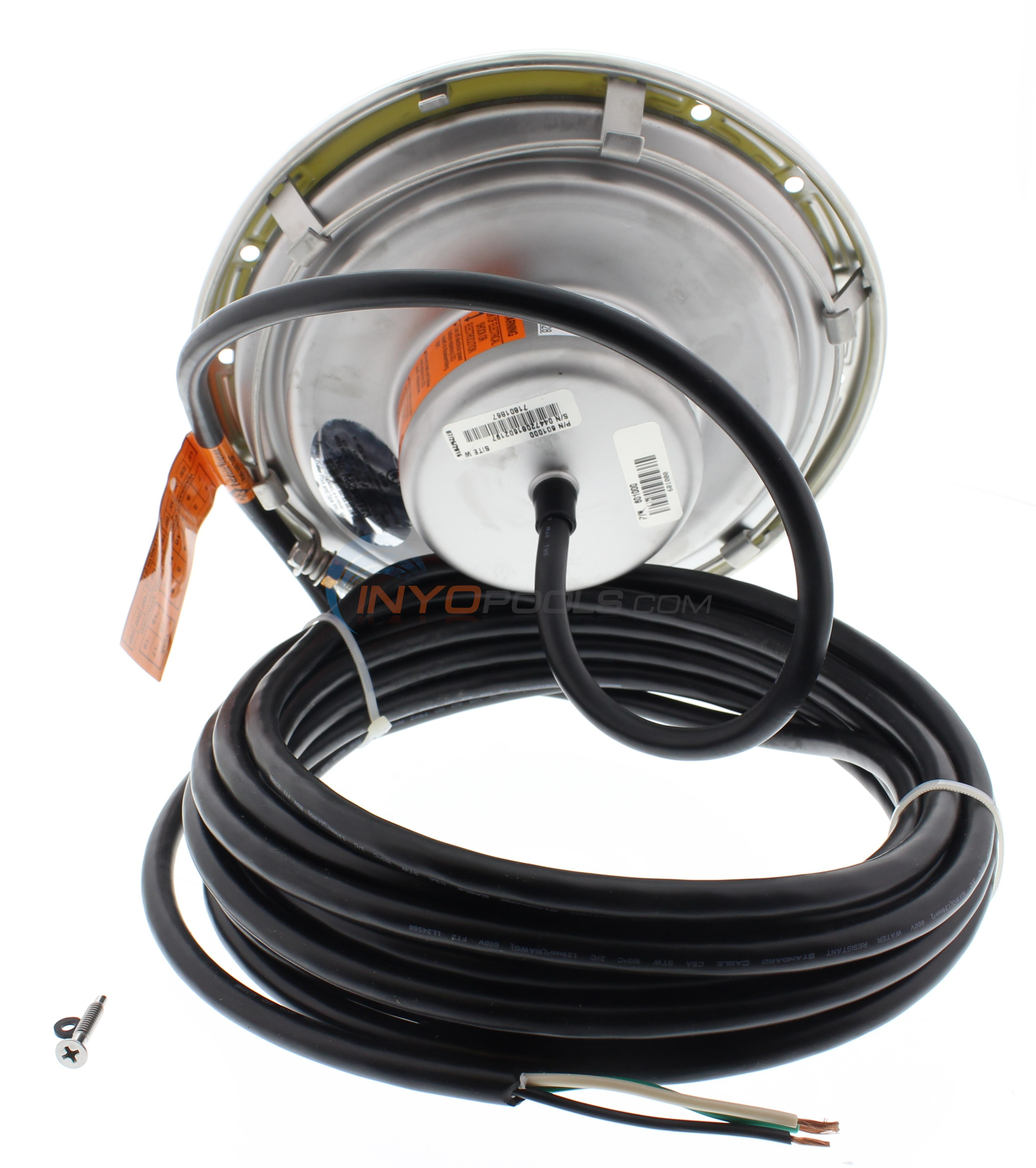 Pentair Led Pool Light Wiring Diagram Wire Center Intellibrite 5g 120v 50 Color 601001 Rh Inyopools Com Swimming