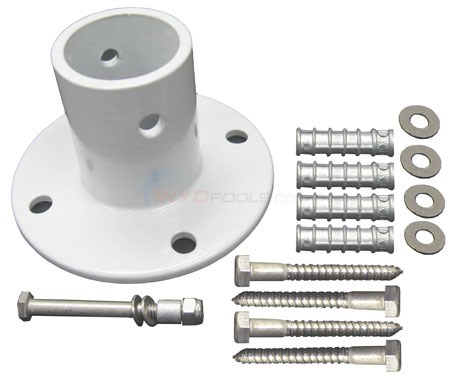 S.R. Smith Aluminum Anchor Flange Kit (4 Pack) - 752095866