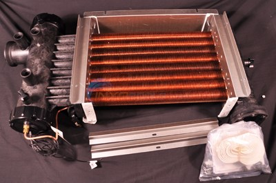 LXI 250, COMPLETE HEAT EXCHANGER, COPPER