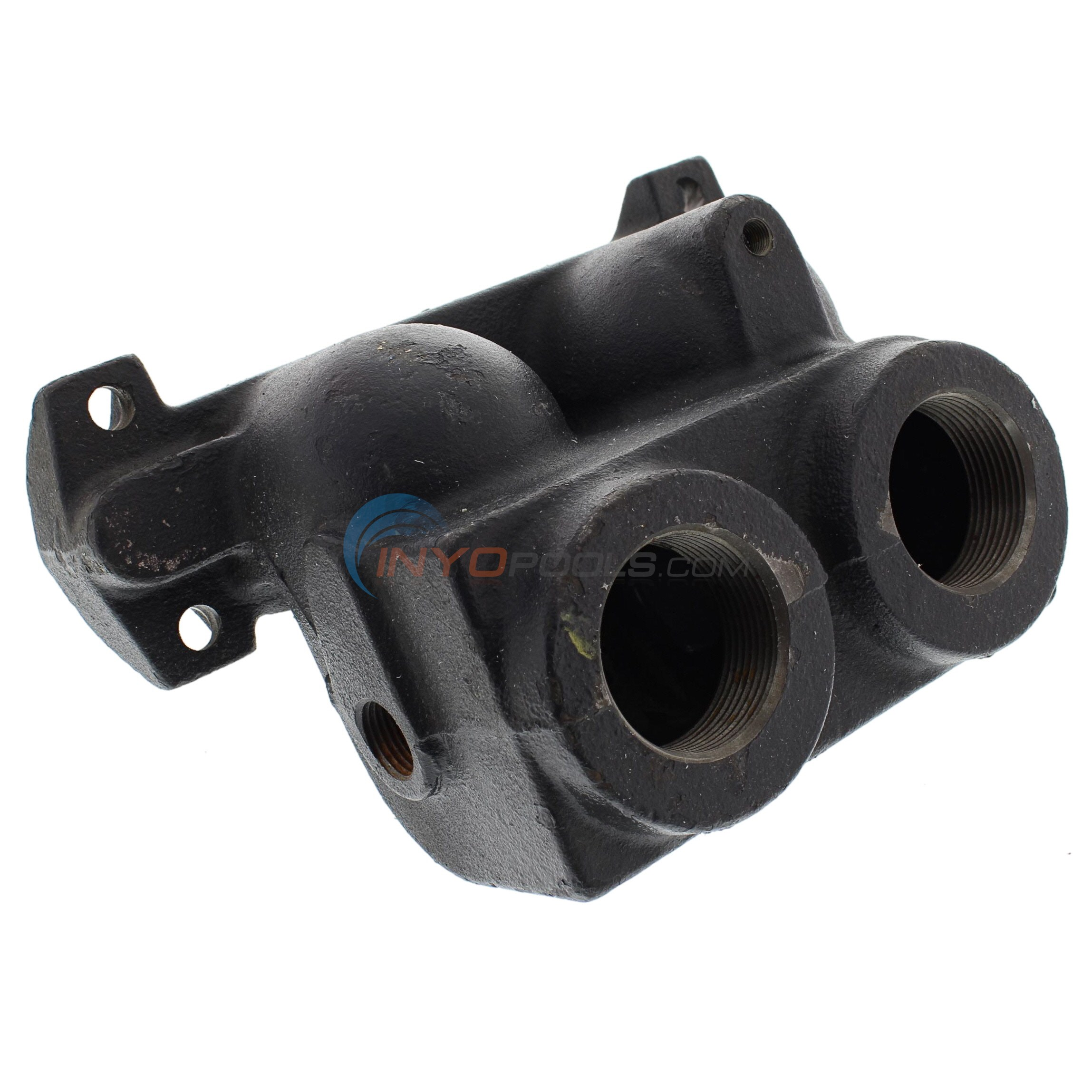 INLET OUTLET HEADER, CAST IRON, 105B