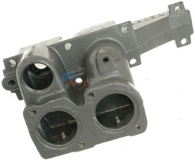 HEADER, INLET/OUTLET CAST IRON 1 WELL