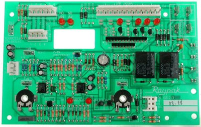 T-STAT CONTROL, PC BOARD IID