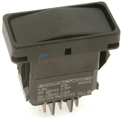 Rocker Switch For Dual Thermostats