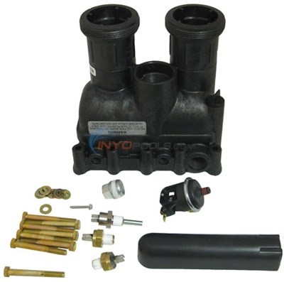 MANIFOLD BODY With SAFETIES (77707-0205)(INCLUDES KEYS - 9, 10, 11, 21, 22, 23 & 2 OF KEY 8)