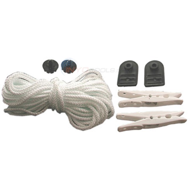 Pull Rope, 35' W/clips, Straps (fg-mpr)
