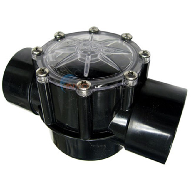 "Pentair CPVC Check Valve, 2"""" Slip X 2 1/2"""" Spg Wg (263042)"