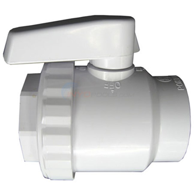 "Hayward Ball Valve, 2""slip, 2-way Wg (sp0724s)"