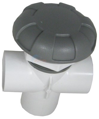 "Diverter Valve 2"" Vertical 2-port, 6 Spoke"