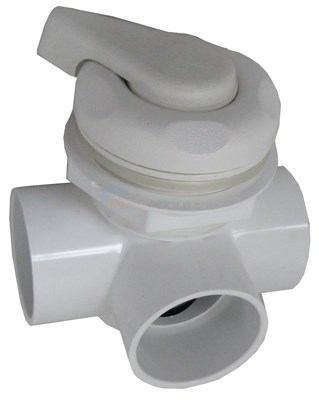 "Diverter Valve 2"" Horizontal 2-port, Tex-5-scallop"