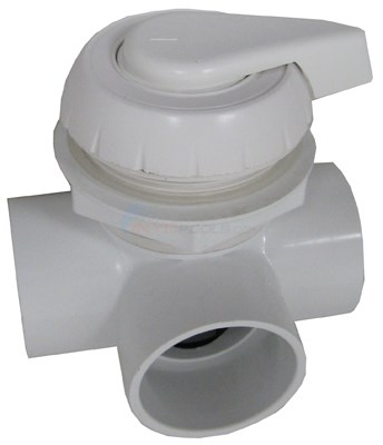 "Diverter Valve 2"" Horizontal 2-port, Notched"
