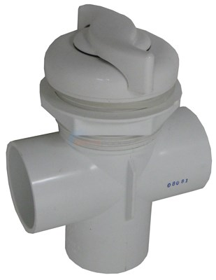 "Diverter Valve 2"" Vertical 2-port, S-style 2 Tone"