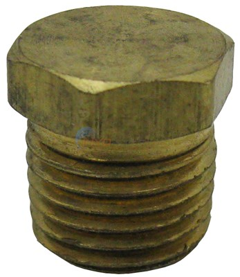 "H-Series 1/4"" NPT Brass Plug"