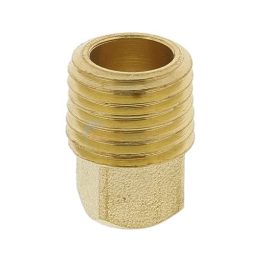 "Anderson Metals Corporation H-Series 1/4"" NPT Brass Plug (06121-04)"