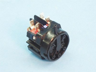 Air Switch, DPDT Latching, 20A - 6862