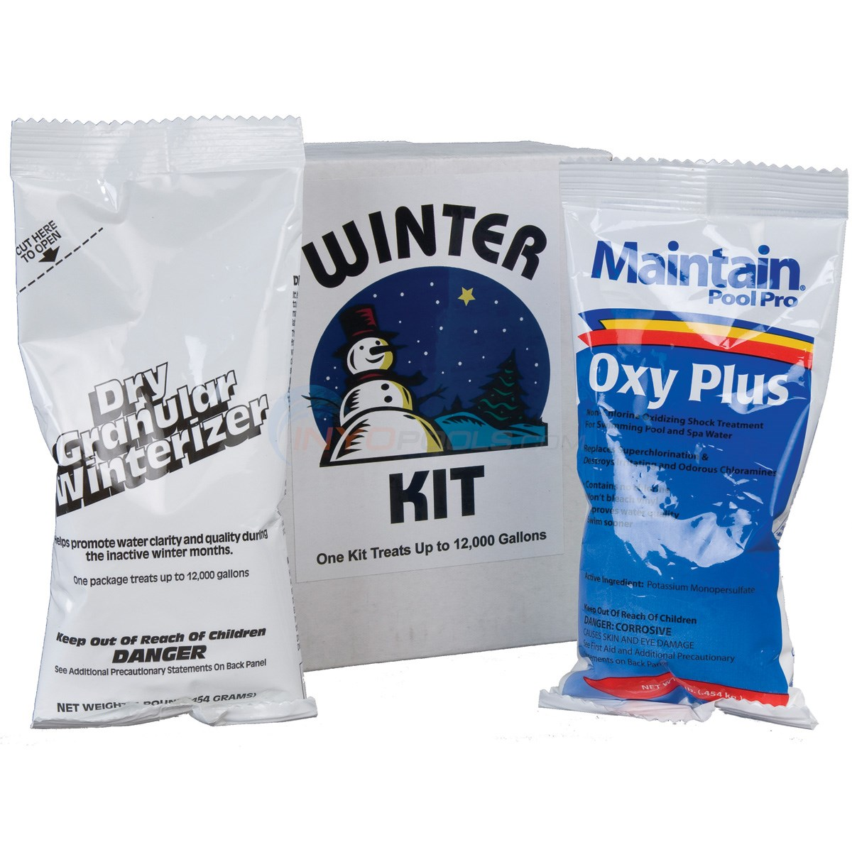 12,000 Gal. Winterizing Kit W/ Chlor-Free Shock