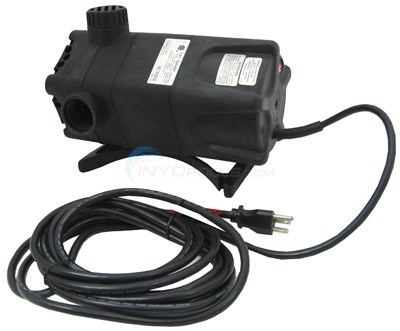 "COMPLETE WATERFALL PUMP, 4100 GPH, 1-1/4"" FNPT DISCHARGE, 115V"