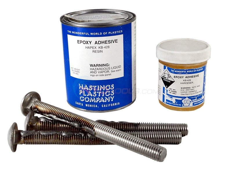 "SR Smith Epoxy Kit with 3 x 1/2"" Bolts"