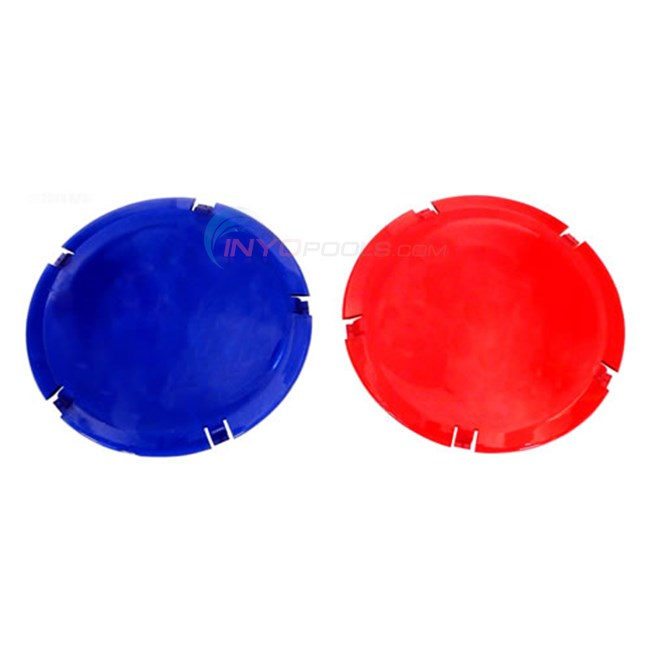 Pentair Lens Cover Color Kit (red & Blue) - 79105400