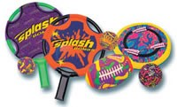 Pool Party Pack, 8 Pc, w/ Trampoline Bats - 8070-P1