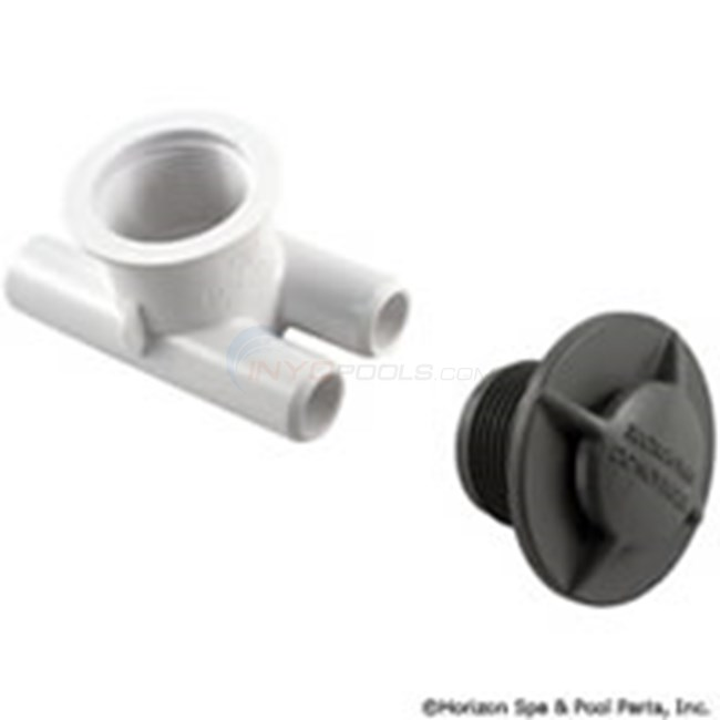 "Spa Vent Vacuum Break Inlet, 3/4""SB - Gray (640-3757V)"