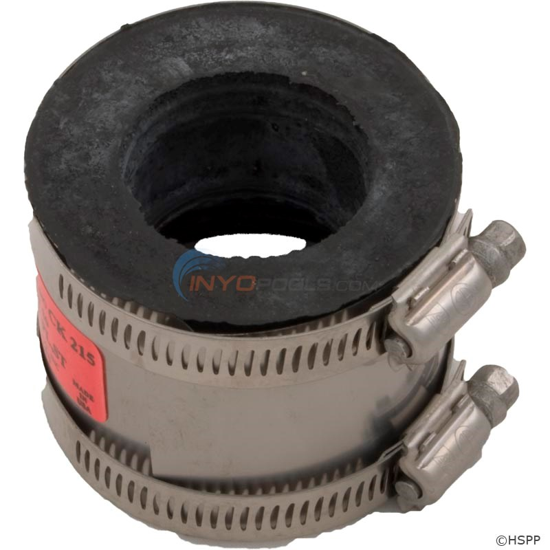 "No Hub Coupling 2"" PVC to 1.5"" Copper/1.25"" PVC - 89-555-1068"