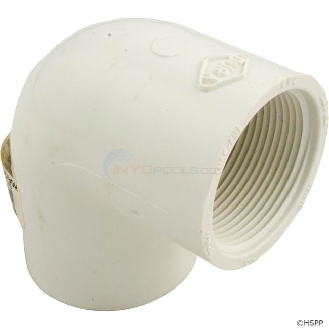 "90 Elbow PVC 1.5"" SxFpt (407-015)"