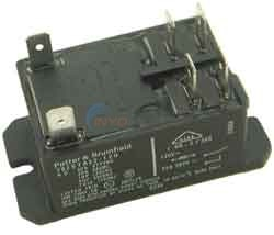 RELAY,P&B T92S7A22 120V DPST