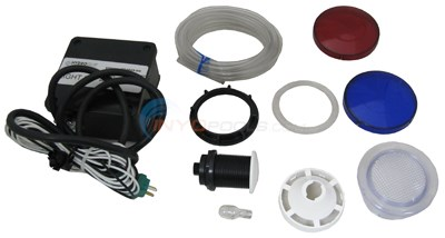 Hydro Quip 120 Volt Light Kit With Air Switch & Wall Fitting (37-0029-sm)