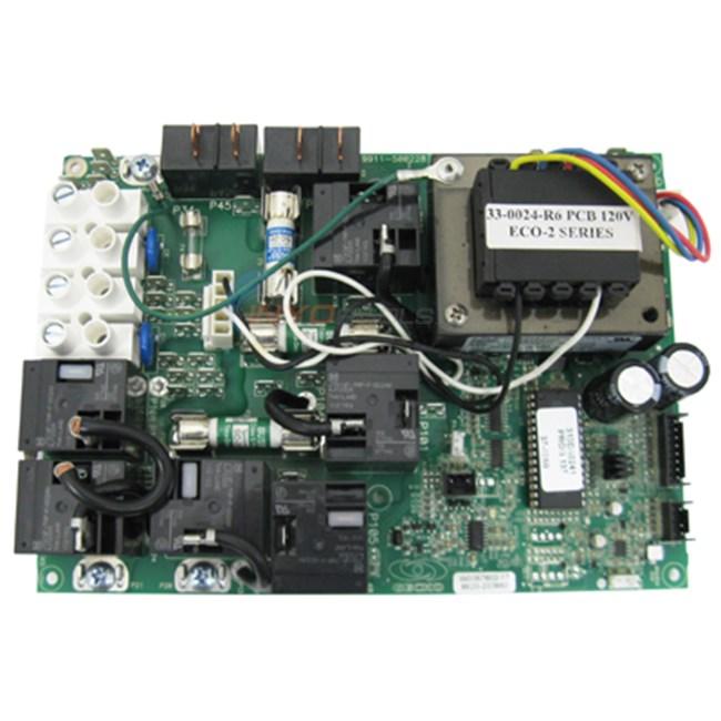 Hydro Quip Circuit Board 6000 Series Versaheat 33 0024 R2 33 0024 R6 Inyopools Com